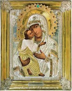 """Чудотворная икона Пресвятой Богородицы """"Умиление"""""""